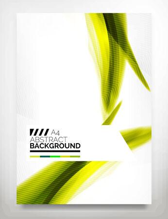 Flyer, Brochure Design Template Illustration