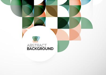 Business Abstract Geometric Template Standard-Bild - 33711217