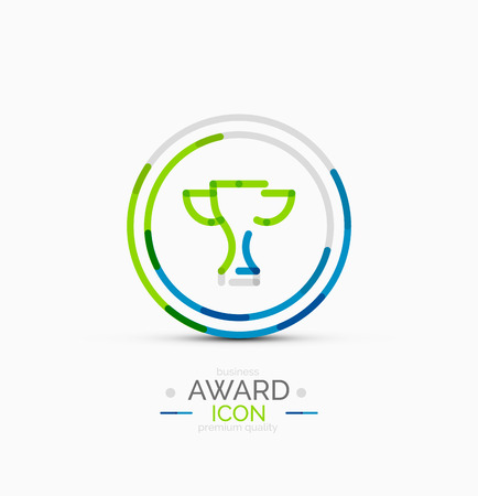 Award icon, logo Vector