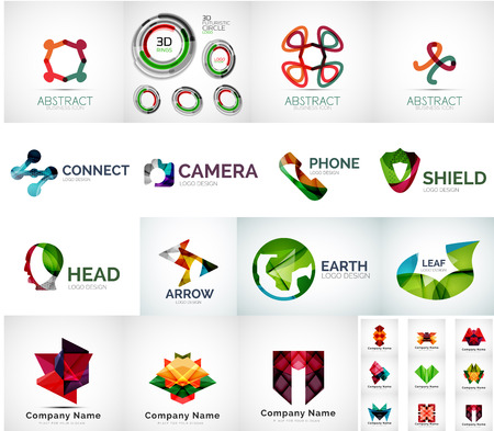 Abstract company  collection Vector