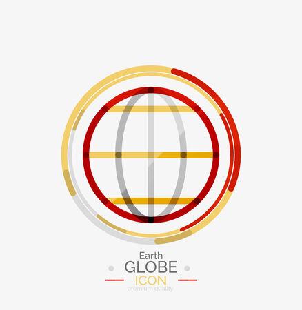 international news: World globe icon