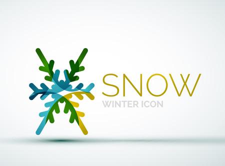 merry chrismas: Christmas snowflake icon