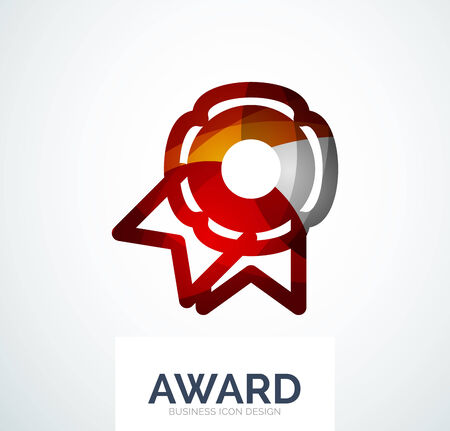 medal like: Colorful award business