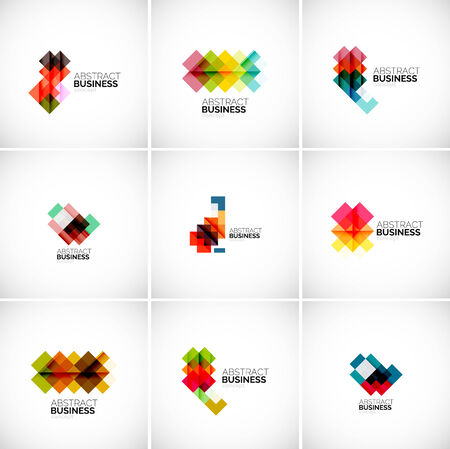 building site: Company vector logo branding elements