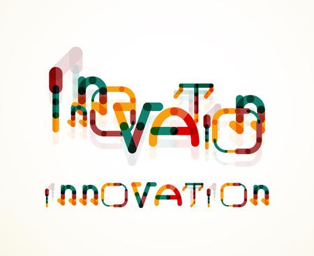 innovator: Innovation word concept Illustration