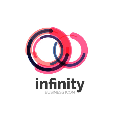 loop: Loop, infinity business icon Illustration