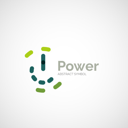Power button  design Vector