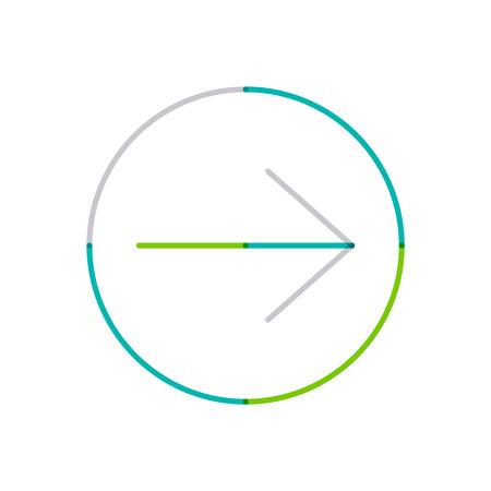 Minimal line design   Vector