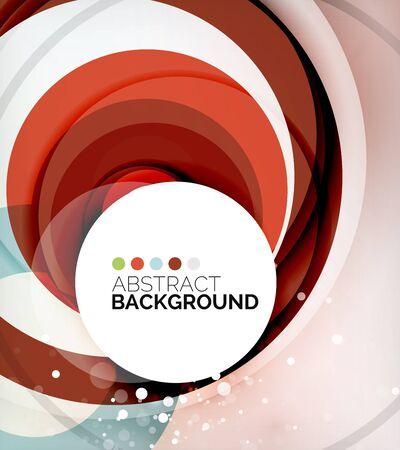 composition: Color circles composition