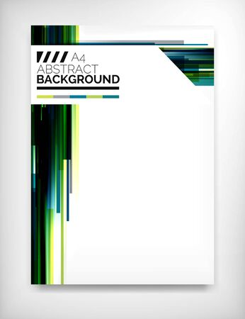 corporate background: Flyer, Brochure Design Template, Layout
