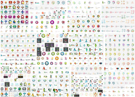 badge logo: Logo mega collection