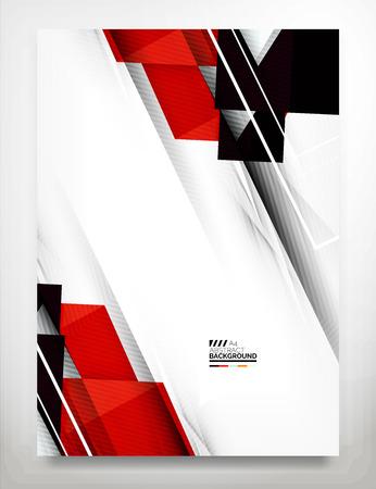 Flyer, Brochure Design Template 矢量图像