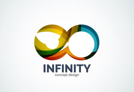 Infinity company icon Vector
