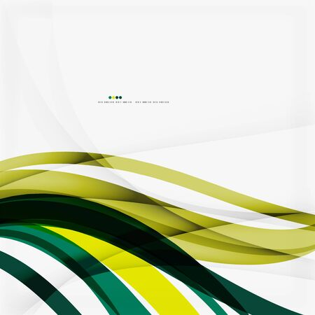 Shiny colorful abstract background, green and blue color Vector