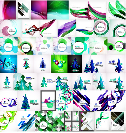 universal: Various universal set of abstract backgrounds