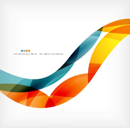 fondo geometrico: Ola de negocios fondo de empresas