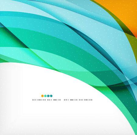 Business wave corporate background Stock Illustratie