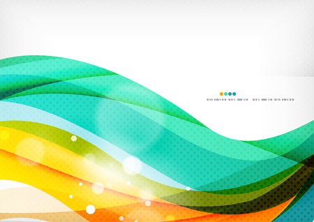 Green orange yellow colors shiny line concept 版權商用圖片 - 38530038