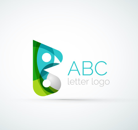 Vector letter icon Vector