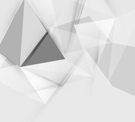 triangular: Grey triangular abstract background