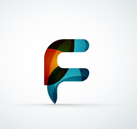 letter art: Vector letter logo