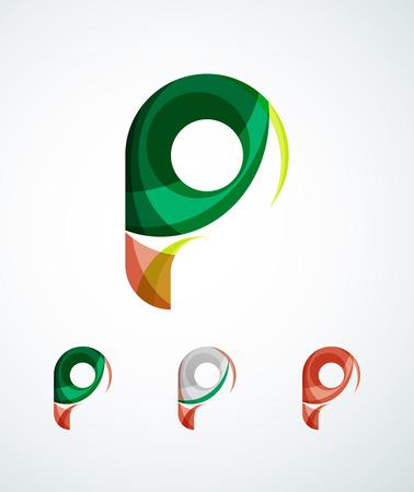 Letter company icon Vector