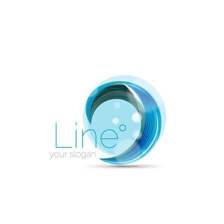 swirl: Swirl company icon design