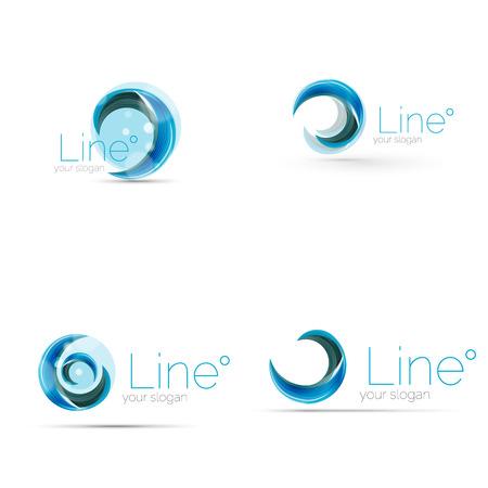 swirl: Swirl company logo design Illustration