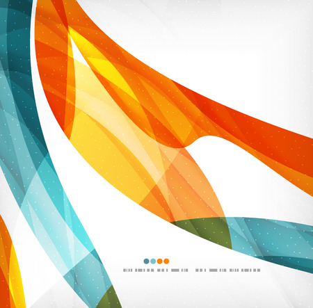 wallpaper   abstract: Business wave corporate background Illustration