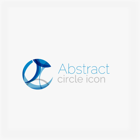 abstract shape: Circle abstract shape icon