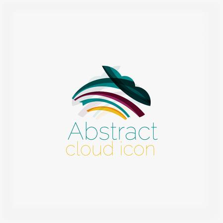 symmetric: Abstract symmetric geometric shapes, business icon