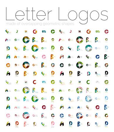 mega: Mega set of various letter  Illustration