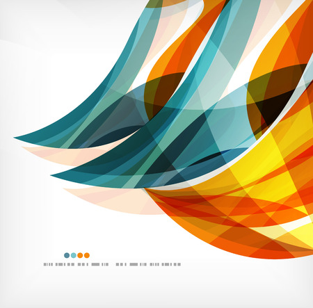 curvas: Ola de negocios fondo de empresas