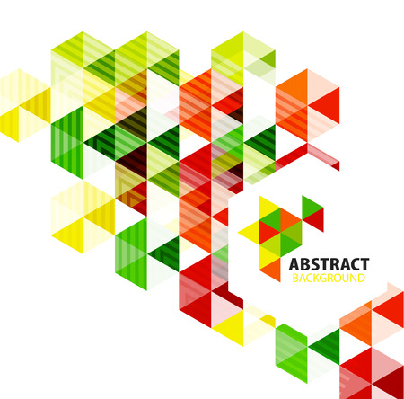 Geometric abstract polygonal background