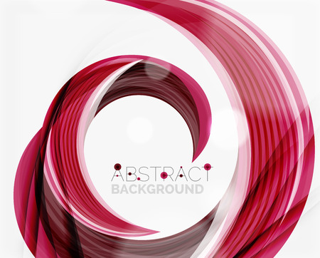 name: Vector swirl line abstract background