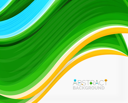 solid background: Abstract realistic solid wave background Illustration