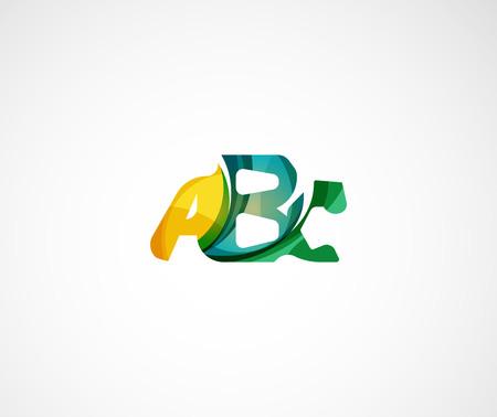company: Abc company  . Vector illustration.