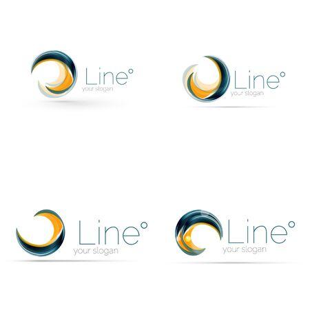 company: Swirl company icon design