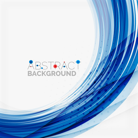 abstract art background: Red and blue color swirl concept
