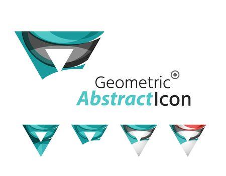 company: Abstract geometric company logo