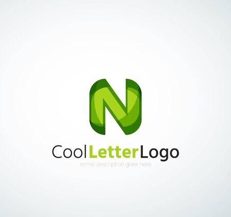 company: Letter company logo Illustration