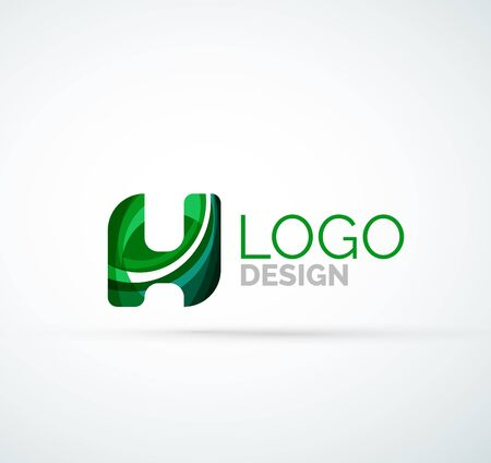 logo vector: Vector letter logo