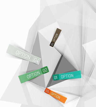 color paper: Infograf�a de papel de color