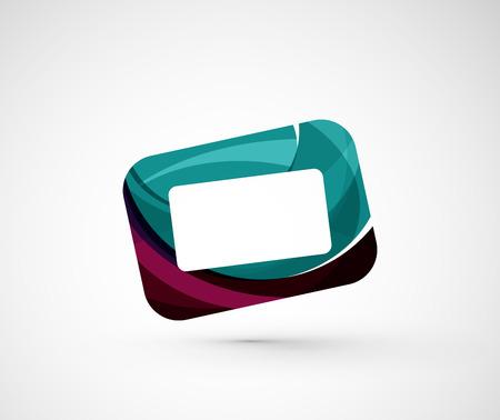 screen: Abstract geometric frame, screen Illustration