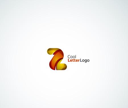 logo vector: Vector Z letter logo