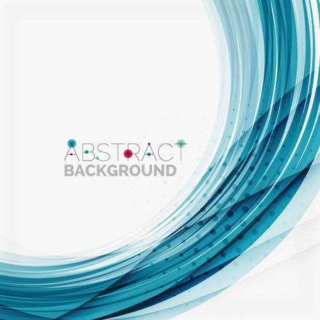 blue wave: Blue wave abstract background Illustration