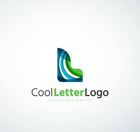 Letter company logo Banco de Imagens - 41434572