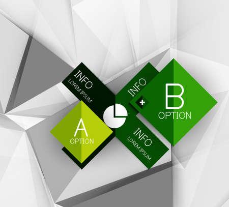 papier couleur: Infographies de papier couleur, vecteur entreprise mod�le de conception
