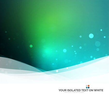 abstract waves background: Color blue, green and light, waves and lines. Abstract background Stock Photo