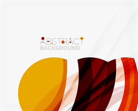 message vector: Red abstract shapes background for your message. Vector